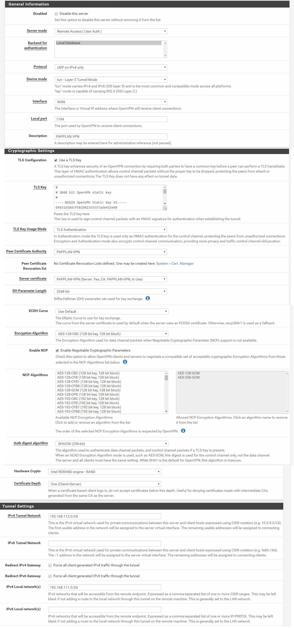 OpenVPN DNS resolver issue - Networking & Firewalls