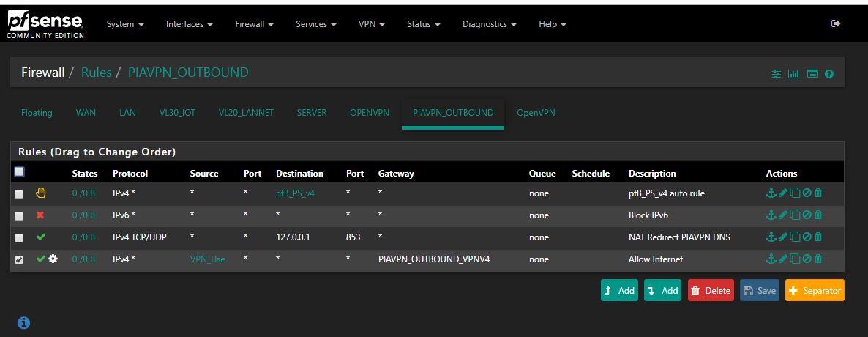 OpenVPN to pfSense Home Network plus PIA VPN - Networking
