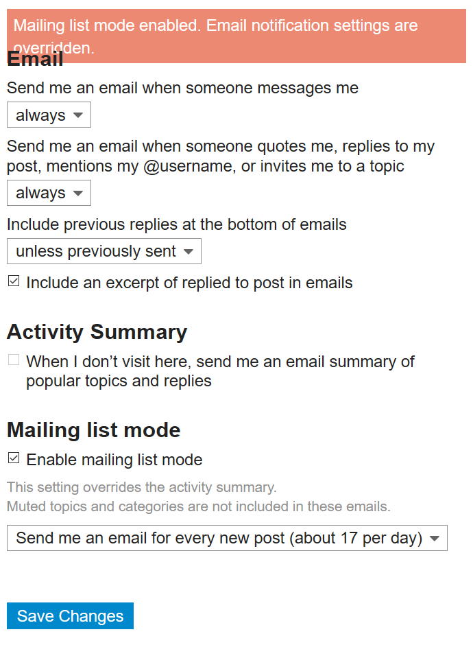 Email reply via Email - Site Feedback & Video Suggestions