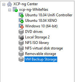 VM storage