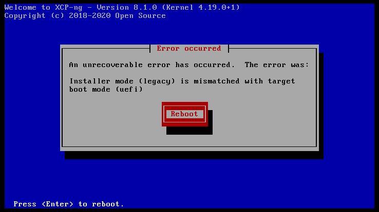 xcp-ng-install-legacy-uefi-mode-error